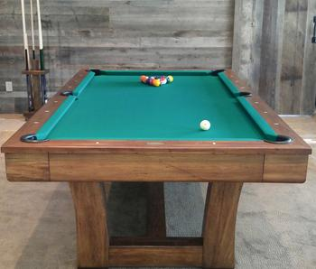 Home Haskill Creek Billards - Huge pool table