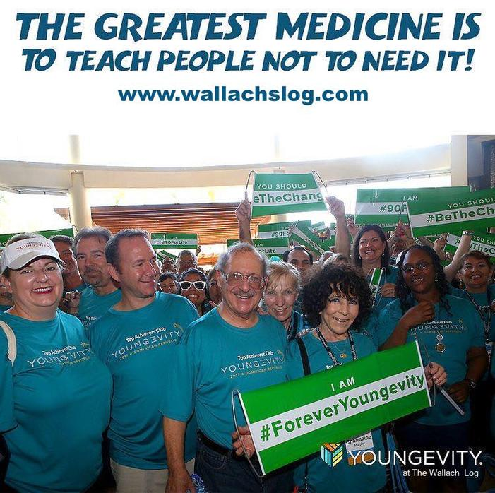 The Greatest Medicine is to Teach People Not to Need it!