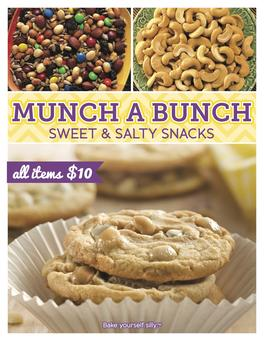 Pine Valley Munch a Bunch Fundraiser Brochure