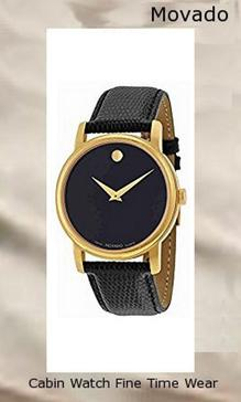Movado Men's 2100005 Museum Gold Classic Leather Watch,movado
