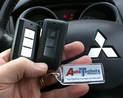 Mitsubishi Outlander and ASX remote keys