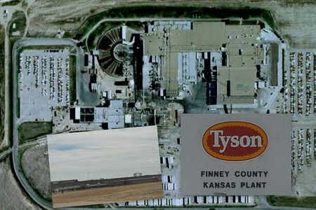 Tyson Beef Plant Industrial Equipment Heating, Air Conditioning, Make Up Air Units, Refrigeration Equipment Holcomb, Ks Weber Refrigeration Services