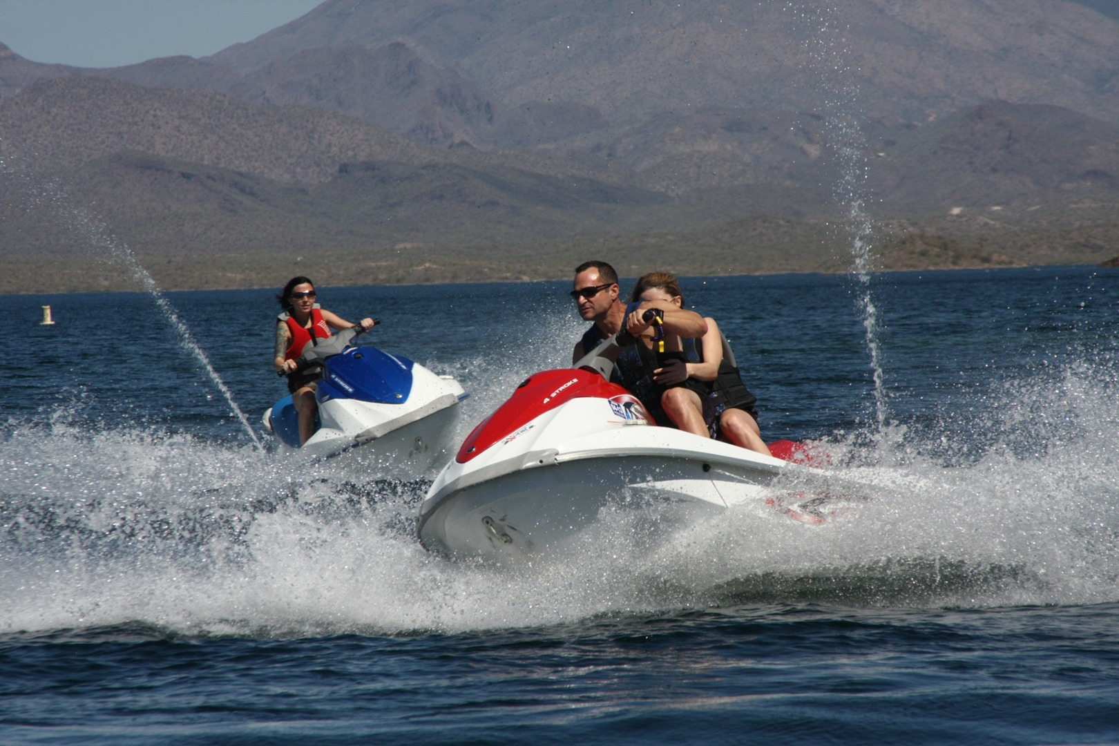 Since 2005  Lake Pleasant jet ski rentals RZR Rentals ATV