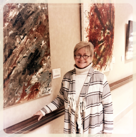 Solo exhibit, Mercy Medical Center
