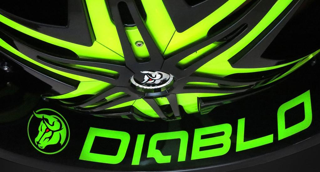Diablo Custom Rims Wheels Ohio - Autosport Plus Canton Akron Ohio - Cleveland Ohio Rims and Tires - Chevy Tahoe Wheels Ohio - Cadillac Wheels Ohio - Chevy Caprice Wheels Ohio - Donk Rims and Tires Ohio