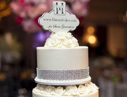 Hansen's Cakes Los Angeles Wedding Cake