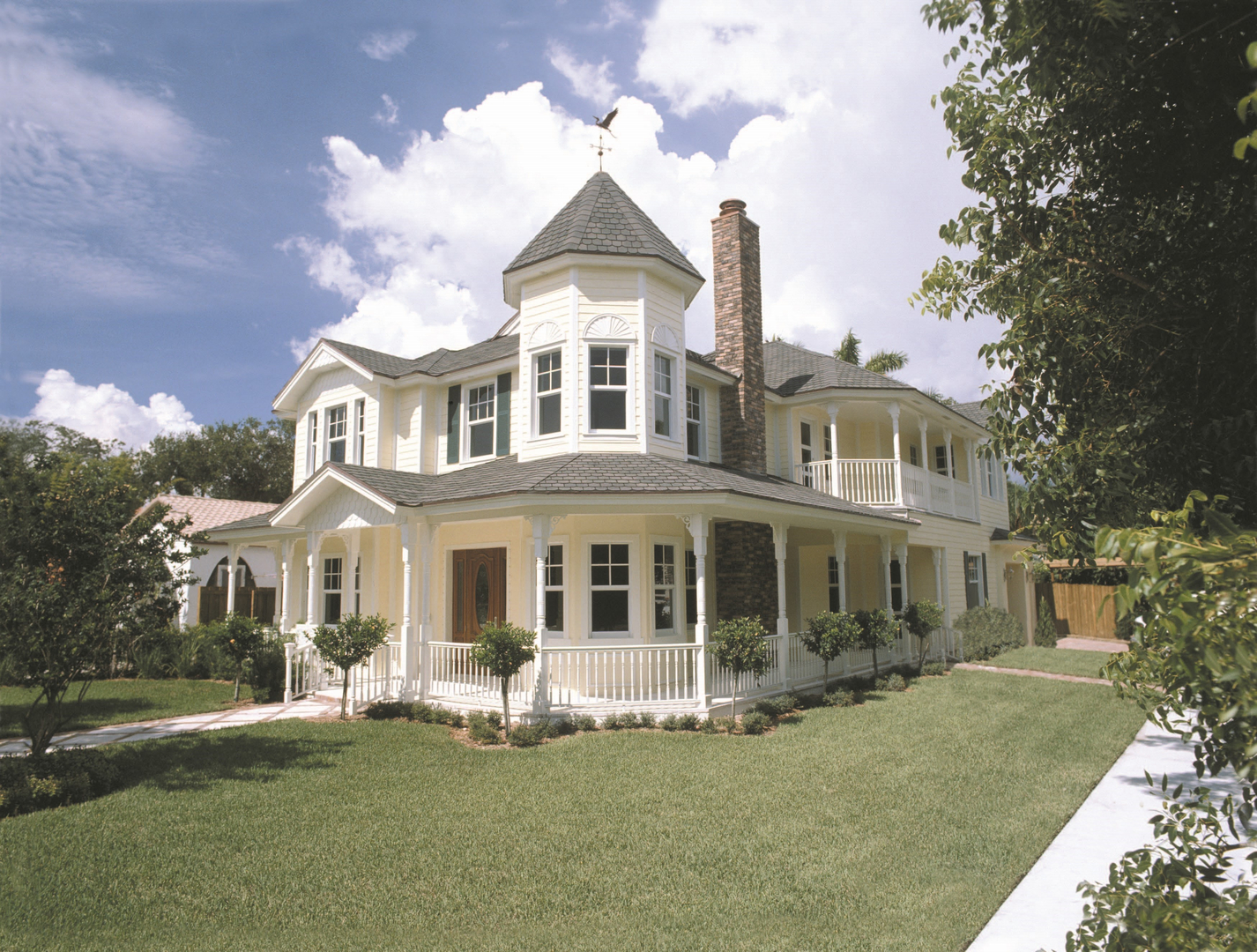 Victorian Style Home Construction Company in South Florida on
