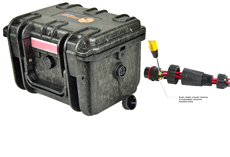 Elephant K100 Waterproof Battery Case Kayak Wiring Diagram Includes