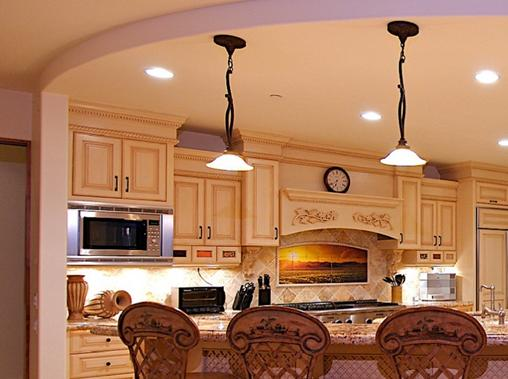 residential lighting installer