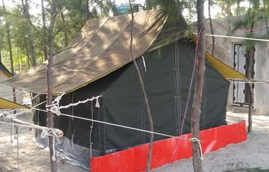Tent at Mousuni Island