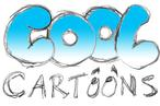 cool cartoon logo drawing