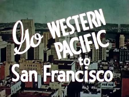 Go Western Pacific to San Francisco Screenshot.