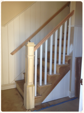 Box Newel Style Stairs