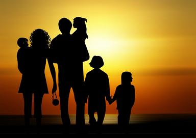 family silhoutte