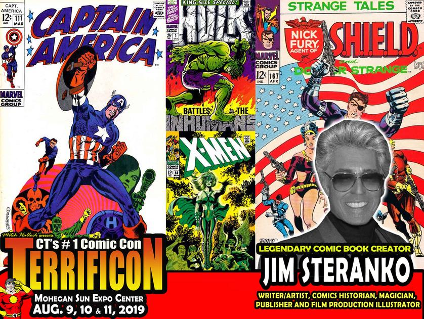 JIM STERANKO at Terrificon