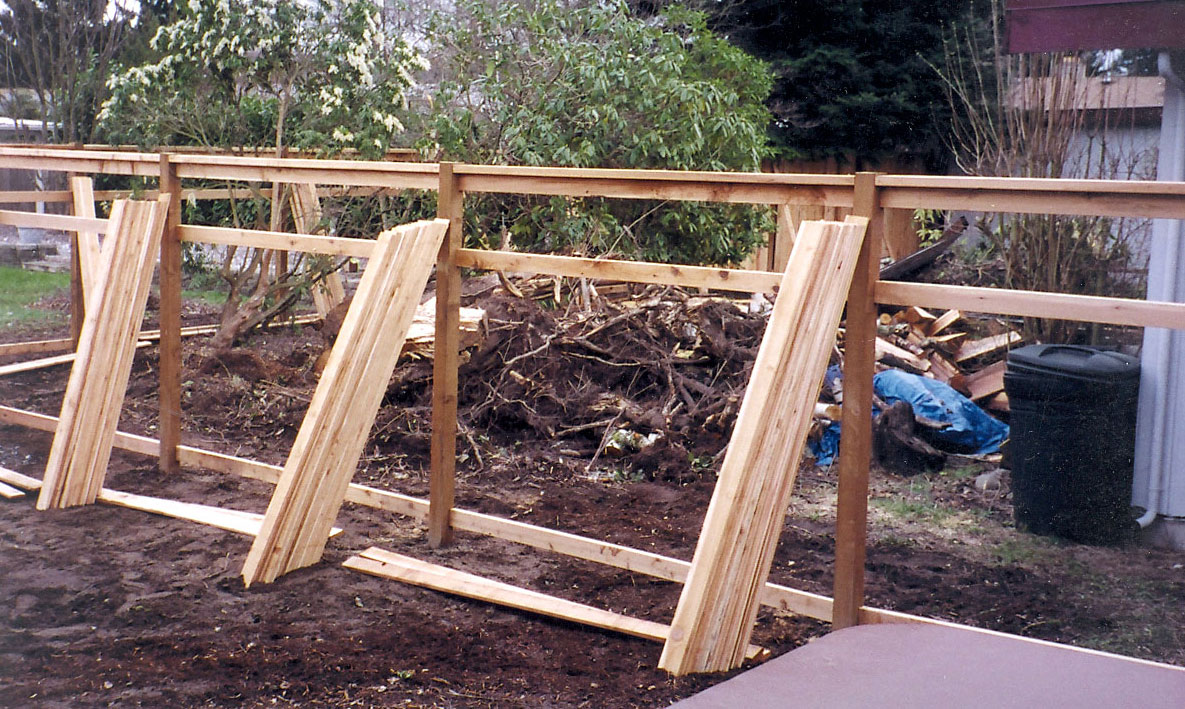 Lattice Top Fence | Cedar Fence Designs | Auburn Enumclaw WA