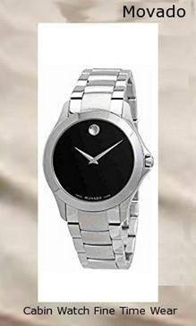 Movado Masino stainless Steel Mens Watch 0607032