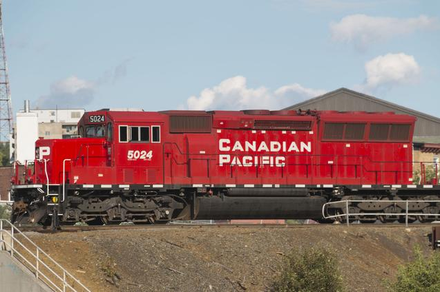 Canadian Pacific SD30C-ECO No. 5024.
