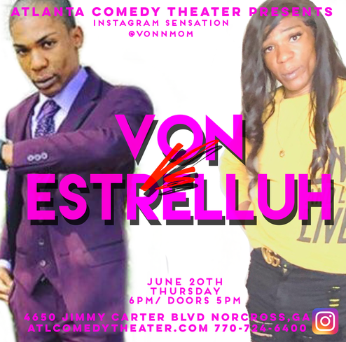 von mom instagram atlanta comedy uptown comedy laughing skull