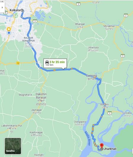 Sundarban Tour By Self Driven Car By Bike Budget Tour From Jharkhali