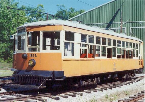 Johnstown Traction No. 311, the Rockhill Trolley Museum's first acquisition in its collection.
