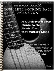 Complete 4-String Bass Edition Fretboard Toolbox
