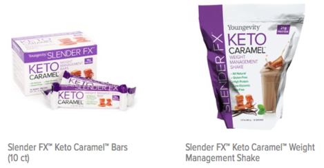 Youngevity KETO shake and bars