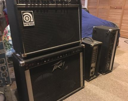 Pile of Amps