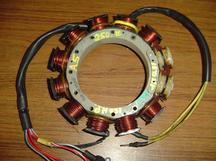 Used stator for a 1991 Mercury XR4 outboard motor OEM #398-9610A5