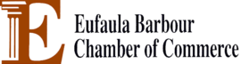 Logo and link to Eufaula Barbour Chamber of Commerce