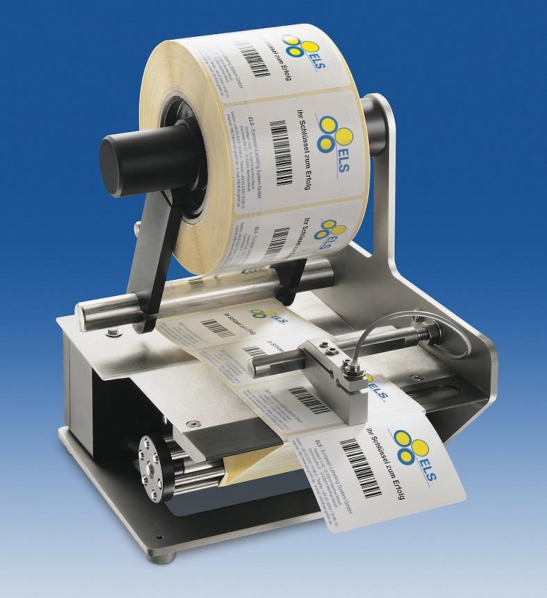 Dml-450 manual label dispenser by dispensa-matic.