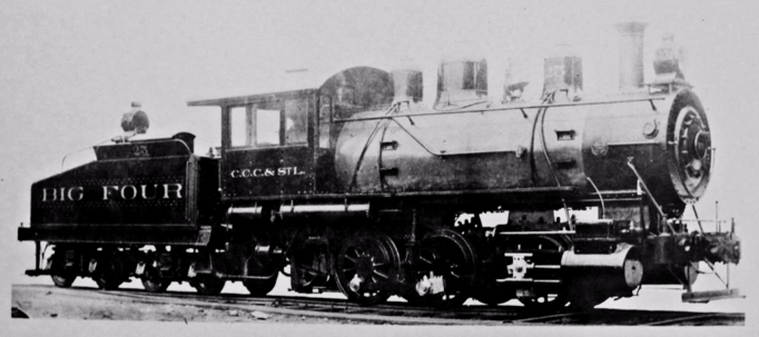 Big Four 0-6-0 No. 25.