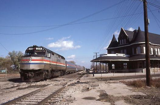 The International at Durand Union Station, October 24, 1985.