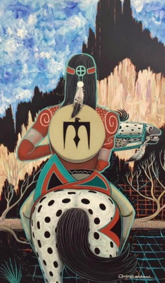 The Natural Accents Gallery of Taos - Presenting the works of Carlos Sandoval - Mixed Media Artist