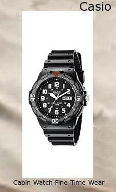 Product specifications Watch Information Brand, Seller, or Collection Name Casio Model number EAW-MRW-200H-1BV Part Number MRW200H-1BV Model Year 2014 Item Shape Round Dial window material type Mineral Display Type Analog Clasp Buckle Case material Resin Case diameter 43 millimeters Case Thickness 12 millimeters Band Material Resin Band length Men's Standard Band width 18 millimeters Band Color Black Dial color Black Bezel material Resin Bezel function Unidirectional Calendar Day and date Special features Luminous, measures-seconds Item weight 2.08 Ounces Movement Japanese quartz Water resistant depth 330 Feet,casio oceanus
