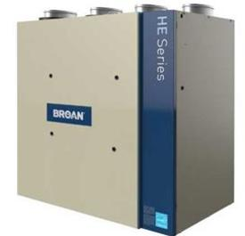 Broan ERV200TE ECM Motors Air Exchanger