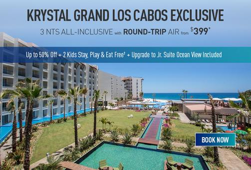 Los Cabos All Inclusive Promo Deals: From $399.00 per person, kids stay free