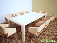 Mesa de MDF Diseño Marco Polo Avila