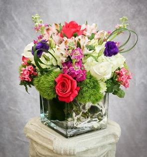 Bright & Mixed, Colorful Arrangement