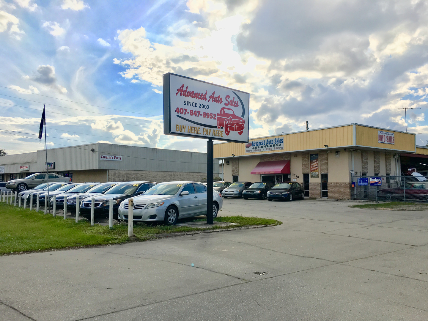 Budget Rental Car Sales >> Advanced Auto Sales Buy Here Pay Here Kissimmee Florida