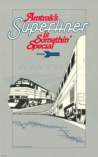 Amtrak's Superliner is Somethin' Special poster