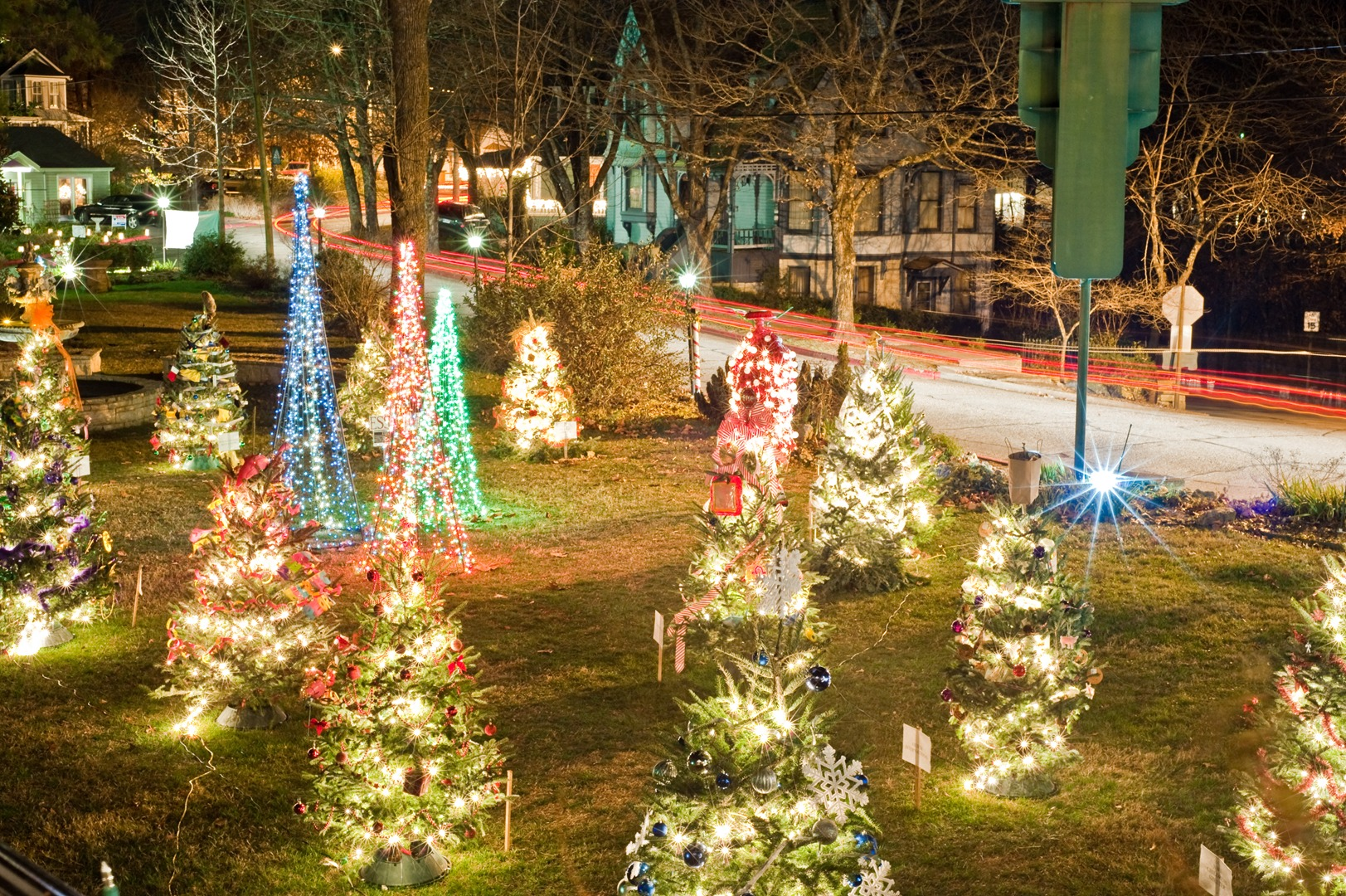 Christmas Forest.Christmas Forest In Eureka Springs