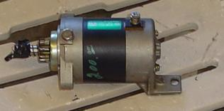 Suzuki outboard used starter for 85 hp Suzuki outboard motor. late 80's ​​