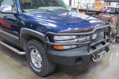 1999 2002 Chevy 1500 Front Replacement Bumpers