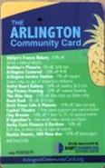 Arlington Community Card Deals 2018
