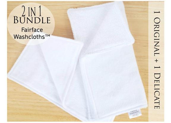 2 in 1 Fairface Bundle with Original and Decliate cloths
