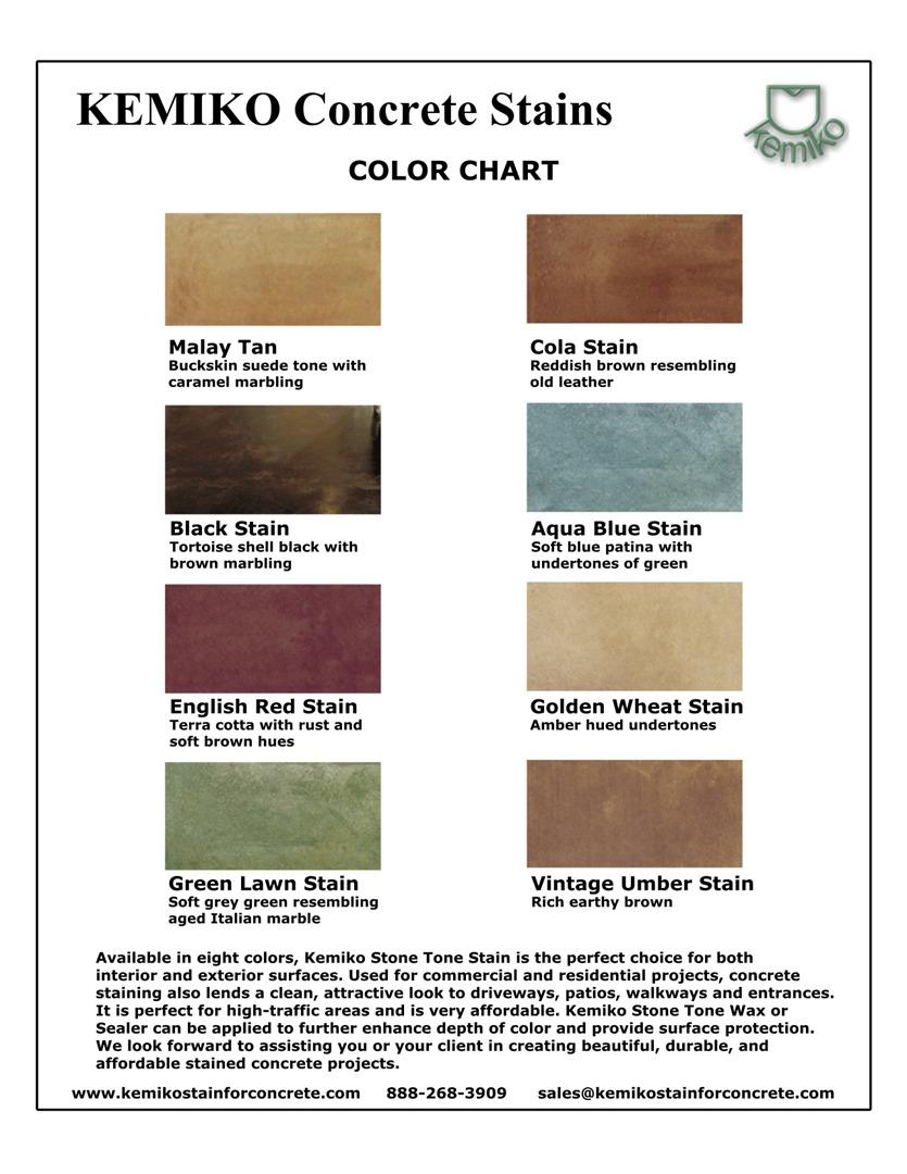 Solomon Color Chart