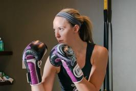 kickboxing, Fitness, Iron Goddess, Women's only