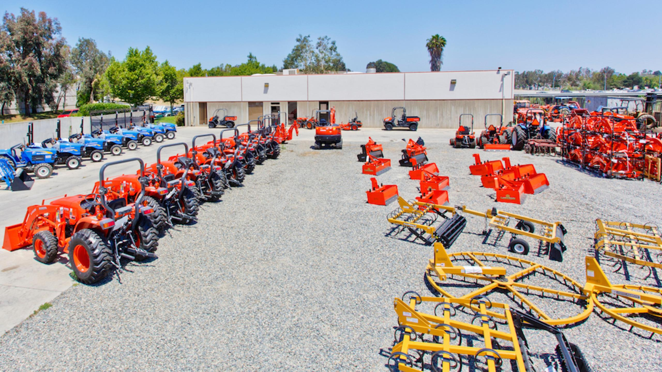 Equipment Sales and Rental locations in San Diego & Riverside County