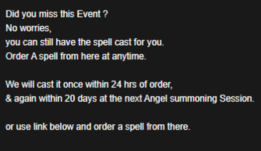 Angel Spells